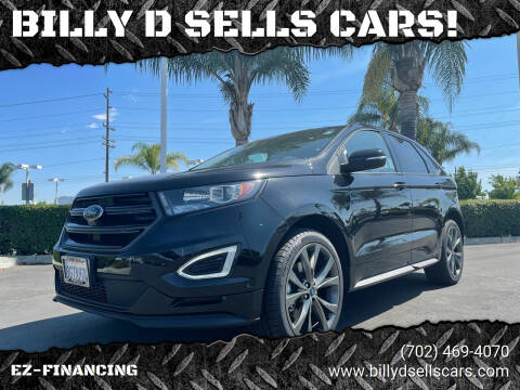 2018 Ford Edge for sale at BILLY D SELLS CARS! in Temecula CA