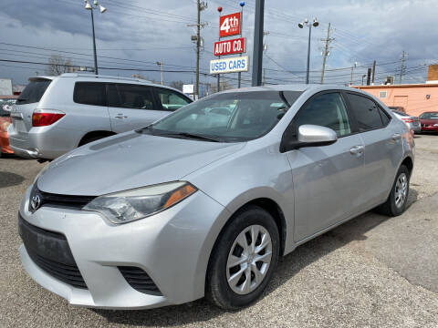 2016 Toyota Corolla for sale at 4th Street Auto in Louisville KY