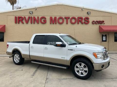 2012 Ford F-150 for sale at Irving Motors Corp in San Antonio TX