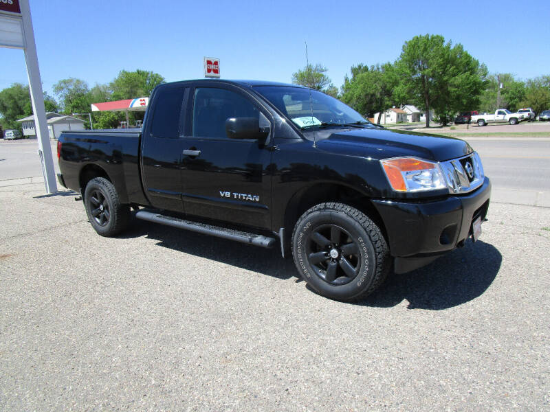 2012 Nissan Titan for sale at Padgett Auto Sales in Aberdeen SD