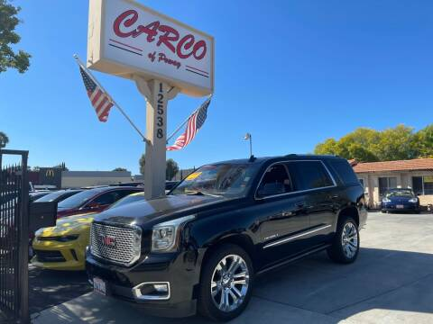 2017 GMC Yukon for sale at CARCO OF POWAY in Poway CA