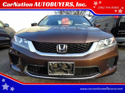2013 Honda Accord for sale at CarNation AUTOBUYERS Inc. in Rockville Centre NY