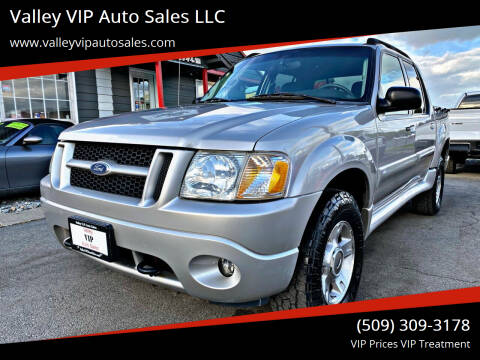 2004 Ford Explorer Sport Trac for sale at Valley VIP Auto Sales LLC in Spokane Valley WA