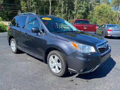 2014 Subaru Forester for sale at Pine Grove Auto Sales LLC in Russell PA