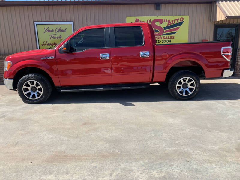 2012 Ford F-150 for sale at BIG 'S' AUTO & TRACTOR SALES in Blanchard OK