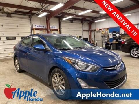 2016 Hyundai Elantra for sale at APPLE HONDA in Riverhead NY