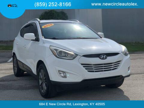 2015 Hyundai Tucson for sale at New Circle Auto Sales LLC in Lexington KY