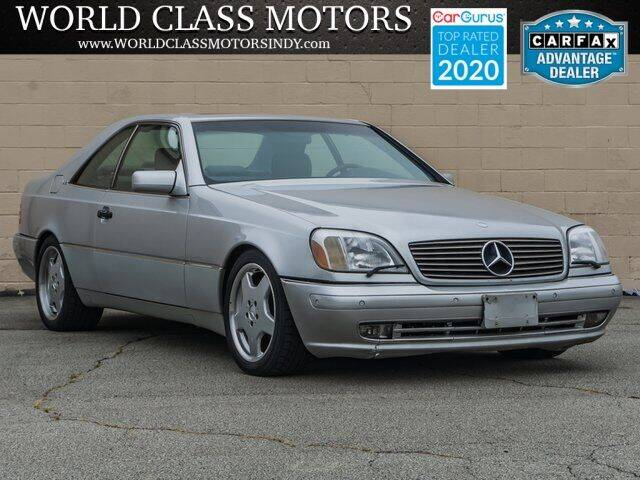 1999 Mercedes-Benz CL-Class for sale at World Class Motors LLC in Noblesville IN