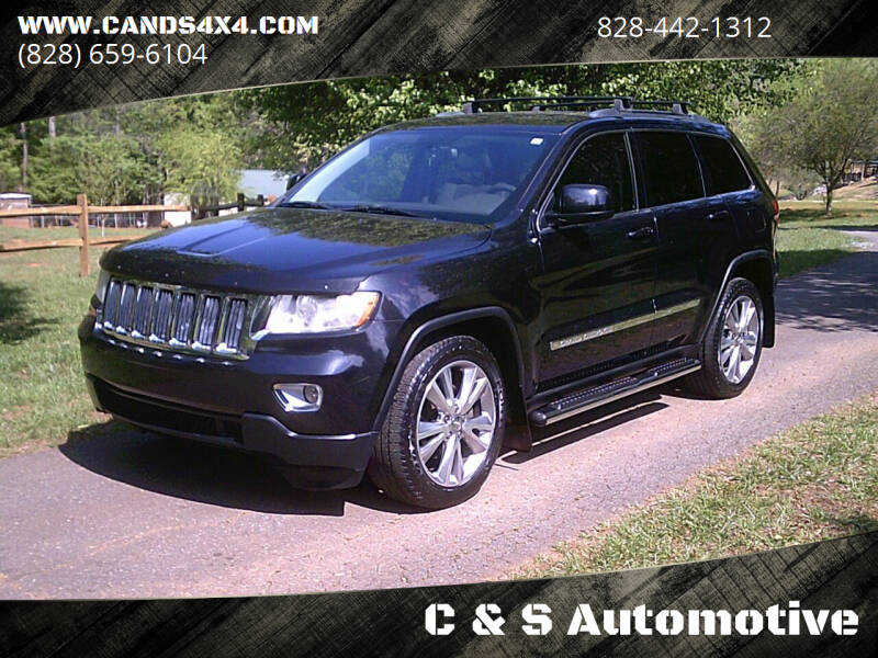 2012 Jeep Grand Cherokee for sale at C & S Automotive in Nebo NC