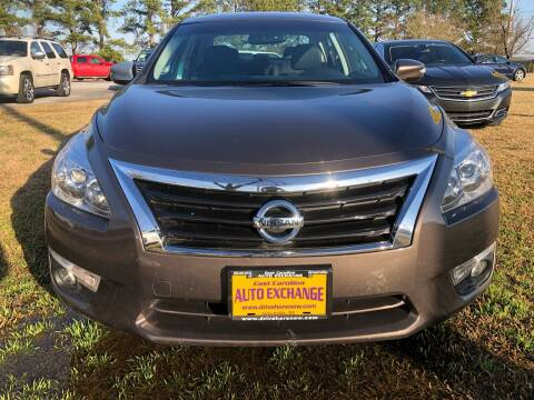 2014 Nissan Altima for sale at East Carolina Auto Exchange in Greenville NC