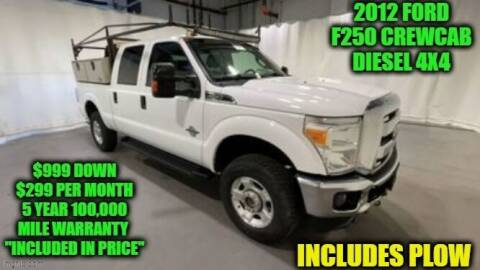 2012 Ford F-250 Super Duty for sale at D&D Auto Sales, LLC in Rowley MA