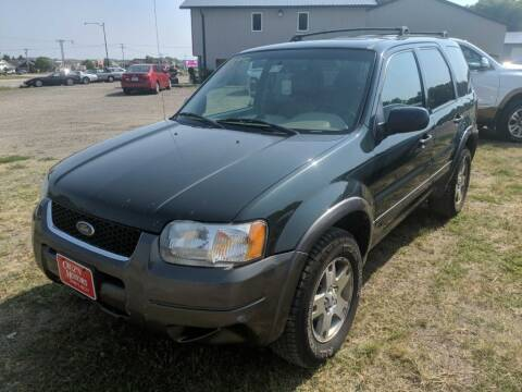 2003 Ford Escape for sale at CRUZ'N MOTORS in Spirit Lake IA