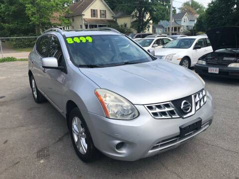 2012 Nissan Rogue for sale at Emory Street Auto Sales and Service in Attleboro MA