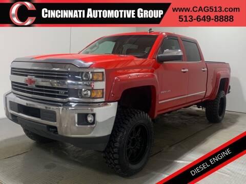 2015 Chevrolet Silverado 2500HD for sale at Cincinnati Automotive Group in Lebanon OH