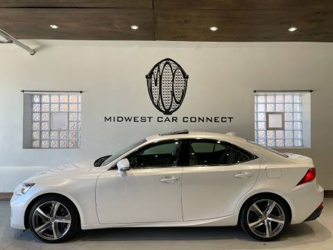 2017 Lexus IS 300 for sale at Midwest Car Connect in Villa Park IL