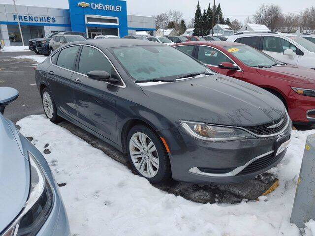 2015 Chrysler 200 for sale at Frenchie's Chevrolet and Selects in Massena NY