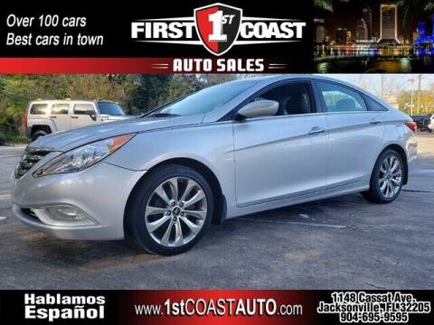 2013 Hyundai Sonata for sale at 1st Coast Auto -Cassat Avenue in Jacksonville FL
