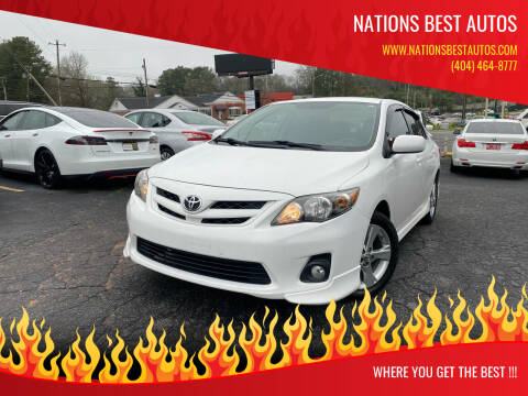 2011 Toyota Corolla for sale at Nations Best Autos in Decatur GA