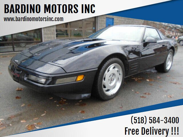 1992 Chevrolet Corvette for sale at BARDINO MOTORS INC in Saratoga Springs NY