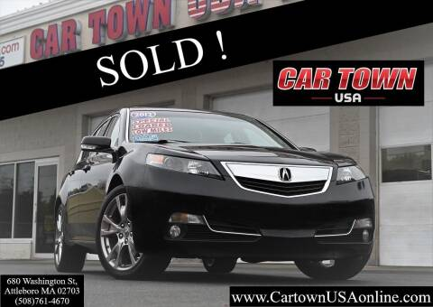 2012 Acura TL for sale at Car Town USA in Attleboro MA