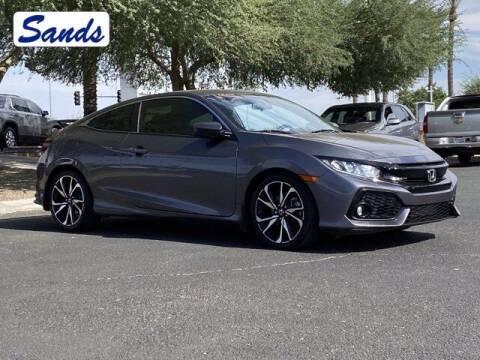 2018 Honda Civic for sale at Sands Chevrolet in Surprise AZ