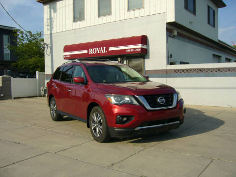 2017 Nissan Pathfinder for sale at Royal Auto Inc in Murray UT