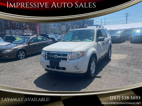 2010 Ford Escape for sale at Impressive Auto Sales in Philadelphia PA