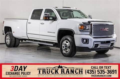 2015 GMC Sierra 3500HD for sale at Truck Ranch in Logan UT