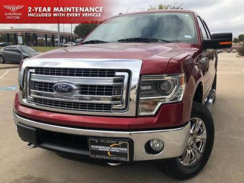 2014 Ford F-150 for sale at European Motors Inc in Plano TX
