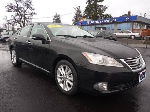2011 Lexus ES 350 for sale at All American Motors in Tacoma WA