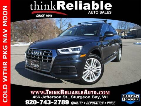 2019 Audi Q5 for sale at RELIABLE AUTOMOBILE SALES, INC in Sturgeon Bay WI