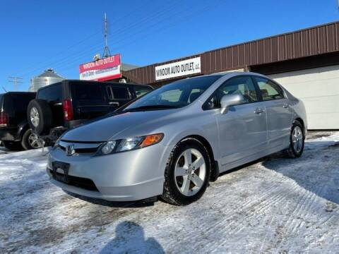 2007 Honda Civic for sale at WINDOM AUTO OUTLET LLC in Windom MN
