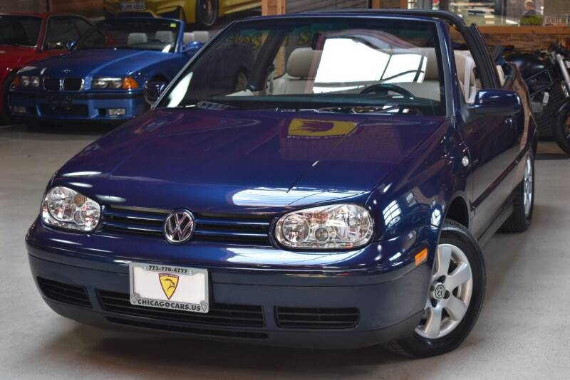 2001 Volkswagen Cabrio for sale at Chicago Cars US in Summit IL