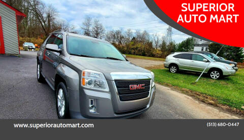2012 GMC Terrain for sale at SUPERIOR AUTO MART in Amelia OH
