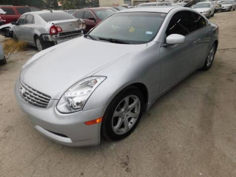2006 Infiniti G35 for sale at JacksonvilleMotorMall.com in Jacksonville FL