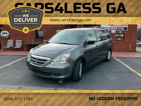 2007 Honda Odyssey for sale at Cars4Less GA in Alpharetta GA
