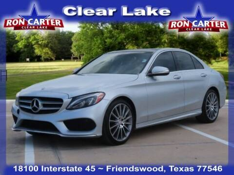 2015 Mercedes-Benz C-Class for sale at Ron Carter  Clear Lake Used Cars in Houston TX