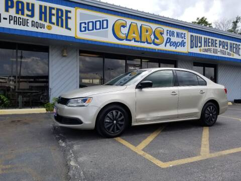 2013 Volkswagen Jetta for sale at Good Cars 4 Nice People in Omaha NE