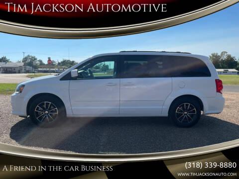 2017 Dodge Grand Caravan for sale at Tim Jackson Automotive in Jonesville LA