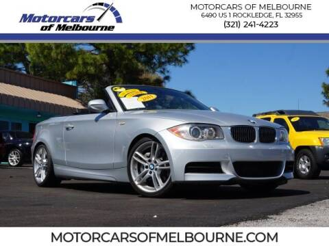 2011 BMW 1 Series for sale at Motorcars of Melbourne in Rockledge FL