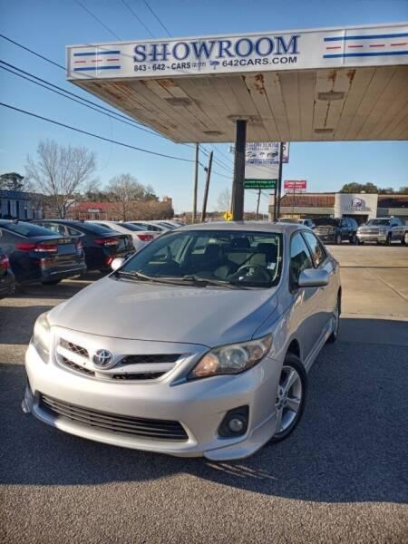 2013 Toyota Corolla for sale at Showroom Auto Sales of Charleston in Charleston SC