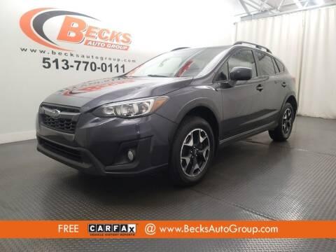 2019 Subaru Crosstrek for sale at Becks Auto Group in Mason OH