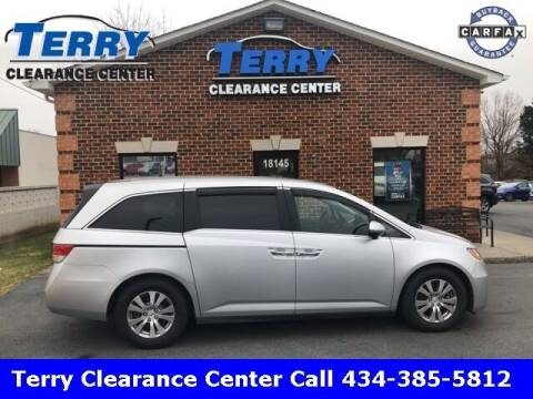 2014 Honda Odyssey for sale at Terry Clearance Center in Lynchburg VA