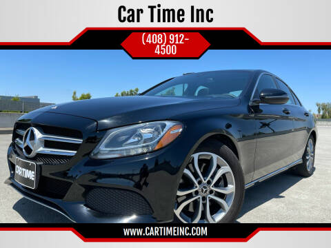 2018 Mercedes-Benz C-Class for sale at Car Time Inc in San Jose CA