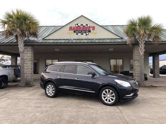 2015 Buick Enclave for sale at Rabeaux's Auto Sales in Lafayette LA
