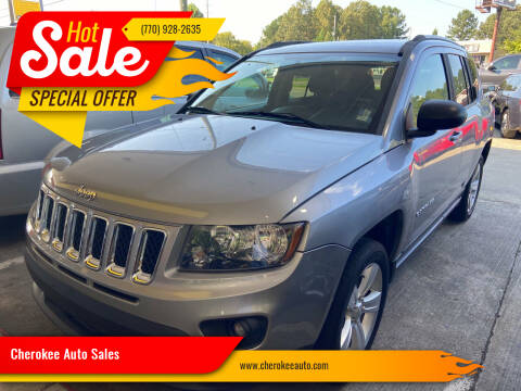 2016 Jeep Compass for sale at Cherokee Auto Sales in Acworth GA