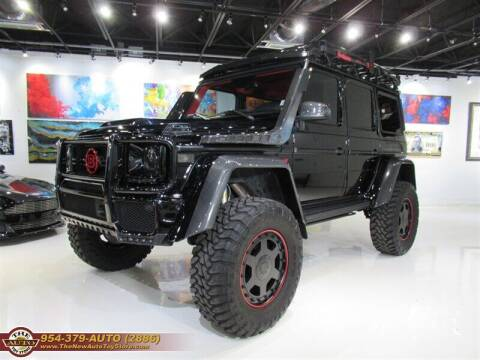 2017 Mercedes-Benz G-Class for sale at The New Auto Toy Store in Fort Lauderdale FL