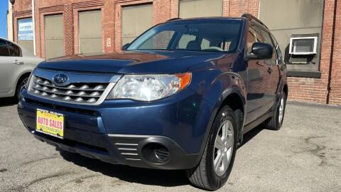 2013 Subaru Forester for sale at Rocky's Auto Sales in Worcester MA