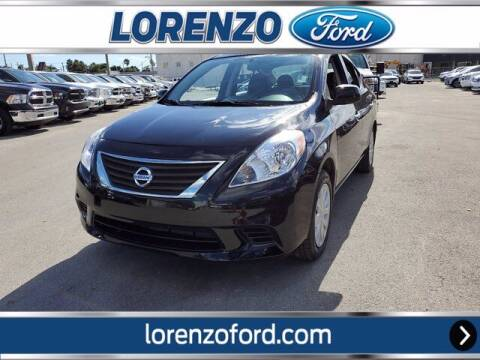 2013 Nissan Versa for sale at Lorenzo Ford in Homestead FL