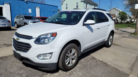 2017 Chevrolet Equinox for sale at M & C Auto Sales in Toledo OH